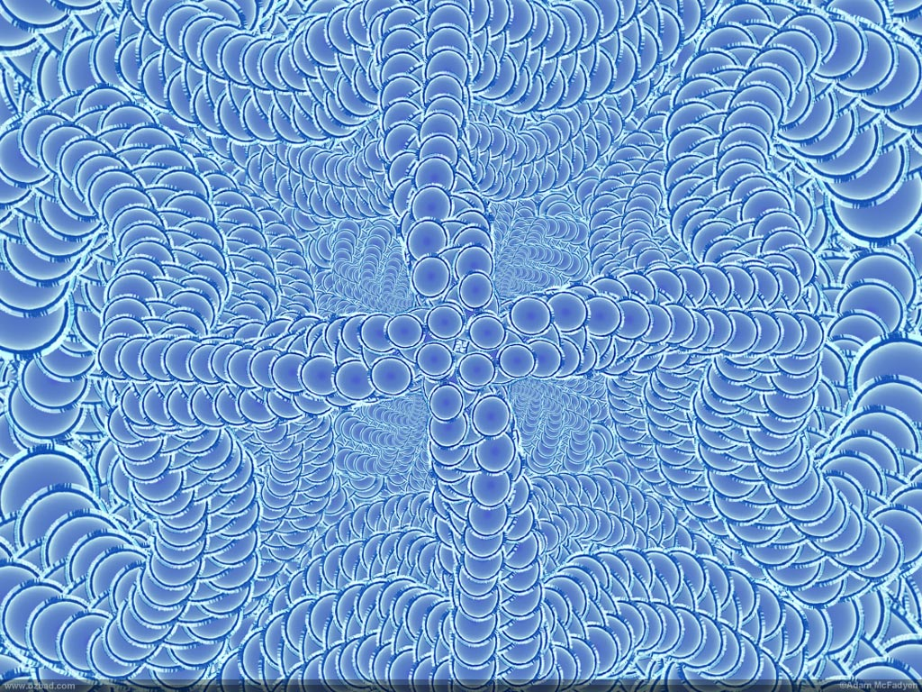 Light Blue Fractal