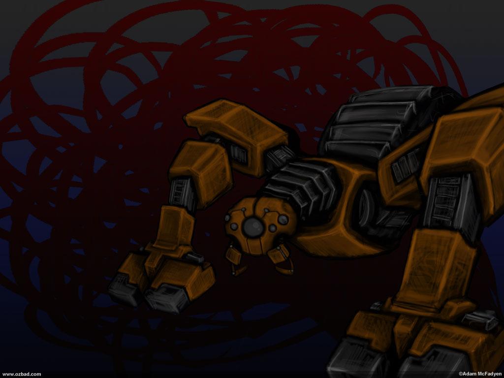 ZOMG-Bot Arachnid Mekka