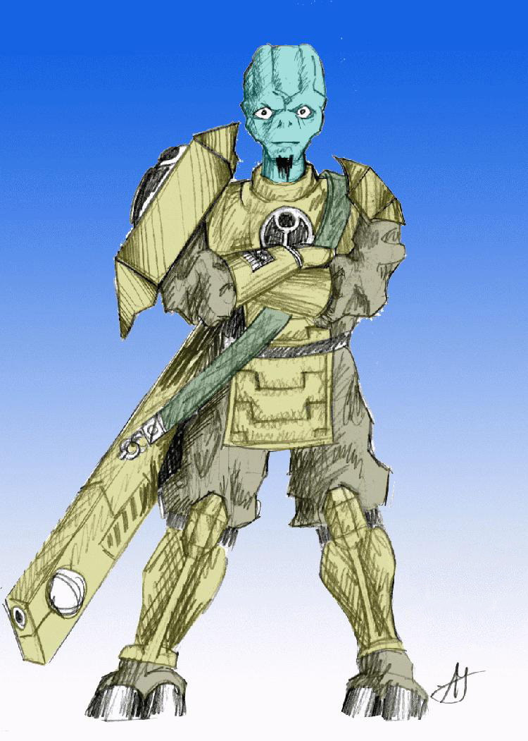 Tau WH40k Fan-Art