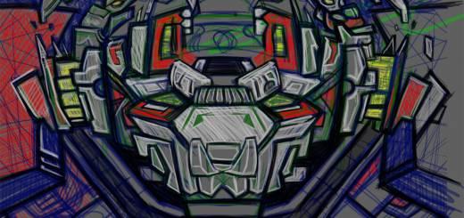 the Graffiti Robot Monster Pig?