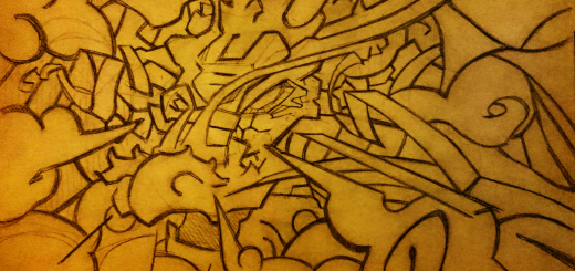 Chinese-Dragon, Abstract, Tribal, Grafitti, Sketch
